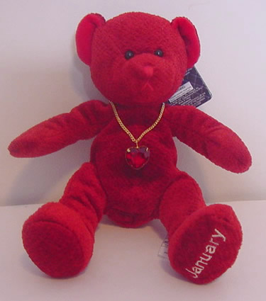 Birthstone Bear of the Month, January