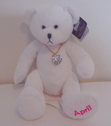 Birthstone Bear of the Month, April