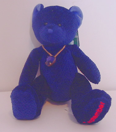 Birthstone Bear of the Month, September