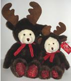 """Broose, reindeer bear, large, 18"""