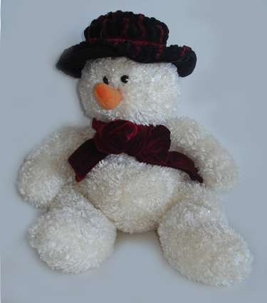 """Freezy"", Sparkly Snowman - Medium"