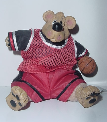 Kathleen Kelly basketball bear, Larry Beard
