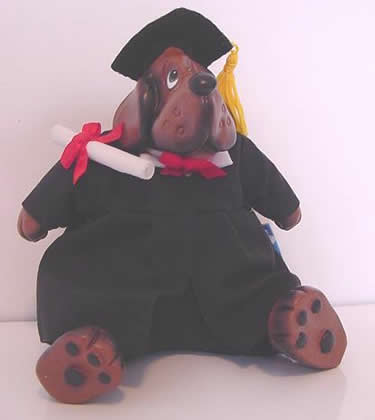 Kathleen Kelly Graduation Dog