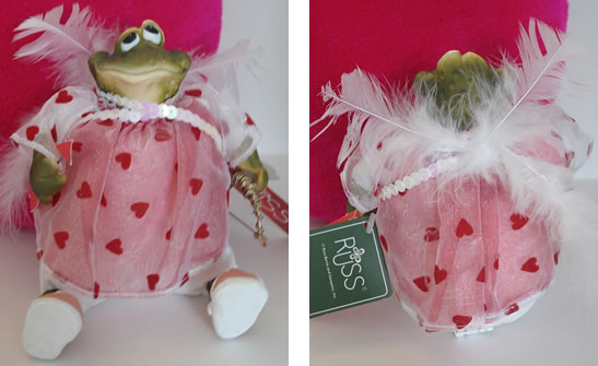 Kathleen Kelly cupid frog, Beau N Arrow - Click Image to Close