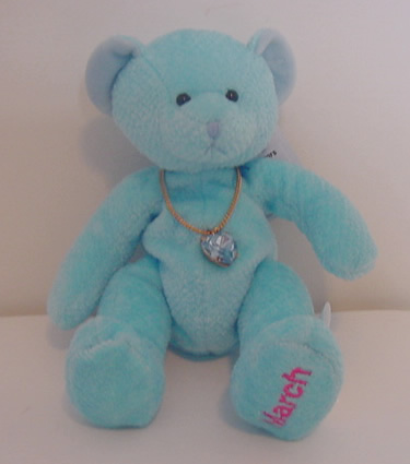 Birthstone Bear of the Month, March