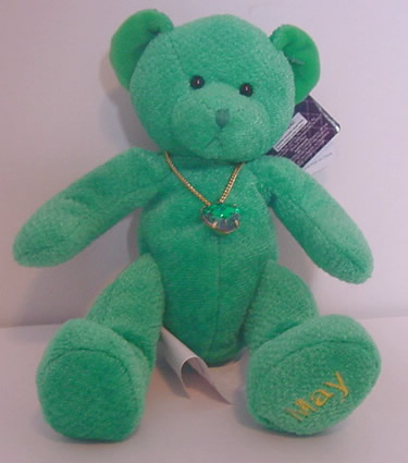 Birthstone Bear of the Month, May