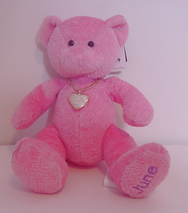 Birthstone Bear of the Month, June
