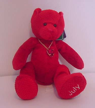Birthstone Bear of the Month, July
