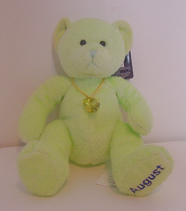 Birthstone Bear of the Month, August