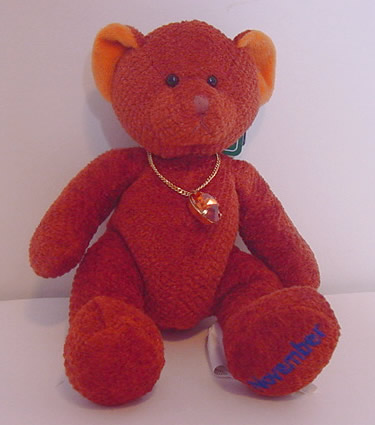 Birthstone Bear of the Month, November