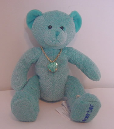 Birthstone Bear of the Month, December