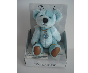 Small Birthstone Bear of the Month, December