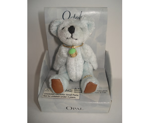 Small Birthstone Bear of the Month, October