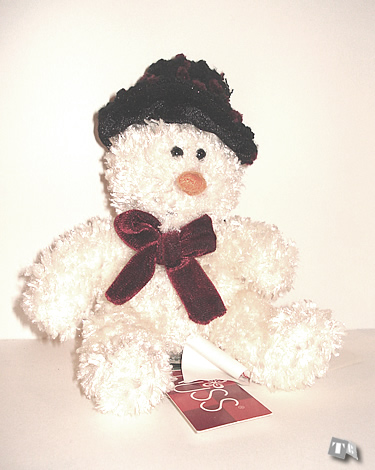 """Freezy"", Sparkly Snowman - Small"