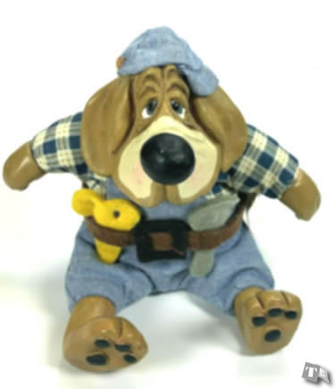 Carpenter Dawg - Kathleen Kelly Collectibles ***NO TAGS***
