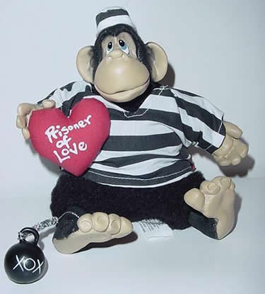 Kathleen Kelly prisoner monkey, Prisoner of Love