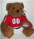 """Li'l Touchdown"", football bear"