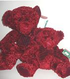"""Rosetta"", red sparkle bear"