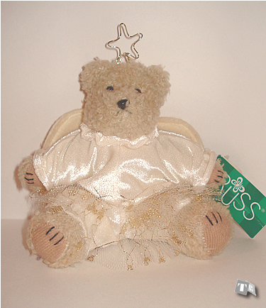 """Glitter and Gold"", angel bear"